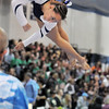 Gabby Maiden, Broomfield, performs her routine on the beam during the state 5A gymnastics meet at Thornton High School on Friday.<br /> <br /> November 4, 2011<br /> staff photo/ David R. Jennings