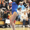 Broomfield's Amy Baum performs her floor routine during the state 5A gymnastics meet at Thornton High on Friday. <br /> November 5, 2010<br /> staff photo/David R. Jennings
