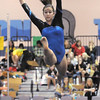 Broomfield's Breanne Claussen performs her floor routine during the state 5A gymnastics meet at Thornton High on Friday. <br /> November 5, 2010<br /> staff photo/David R. Jennings
