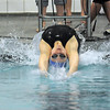 Broomfield's Katalena Laufasa-Duncan launches off of the starting blocks swimming in the 100 yard backstroke during the Coaches Invitational Swim Meet at Mountain View Aquatic Center in Loveland on Saturday.<br /> <br /> December 18, 2010<br /> staff photo/David R. Jennings
