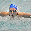 Broomfield's Katalena Laufasa-Duncan swimming the butterfly in the 200 yard IMduring the Coaches Invitational Swim Meet at Mountain View Aquatic Center in Loveland on Saturday.<br /> <br /> December 18, 2010<br /> staff photo/David R. Jennings