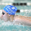 Broomfield's Katalena Laufasa-Duncan swimming in the 200 yard IM during the 4A state championship swimmeet at Mountain View High School in Loveland on Saturday. <br /> February 12, 2011<br /> staff photo/David R. Jennings
