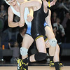 "Broomfield's Jonathon Stelling wrestles Thompson Valley's Ben Hewson in the 126 lb. weight class during Thursday's match at Broomfield.<br /> For more photos please see  <a href=""http://www.broomfieldenterprise.com"">http://www.broomfieldenterprise.com</a><br /> January 19, 2012<br /> staff photo/ David R. Jennings"