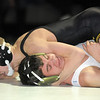 "Thompson Valley's Tanner Williams pins Broomfield's Michael Quinn in the 120 lb. weight class during Thursday's match at Broomfield.<br /> For more photos please see  <a href=""http://www.broomfieldenterprise.com"">http://www.broomfieldenterprise.com</a><br /> January 19, 2012<br /> staff photo/ David R. Jennings"