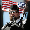 Bagpiper Chalres Stegall, Michael Collins Pipes and Drums, performs during the Broomfield Veterans Memorial Museum's Memorial Day Picnic on Monday at the Broomfield County Commons Park .<br /> May 31, 2010<br /> Staff photo/ David R. Jennings