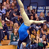 Broomfield's Monique Martinez delivers her performance on the floor during the state individual gymnastics competition at Thornton High School on Saturday.<br /> <br /> November 3, 2012<br /> staff photo/ David R. Jennings