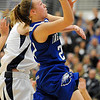 Broomfield's Nicole Lehrer goes to the basket against Air Academy during Saturday's girls 4A state great eight playoff game at the Colorado School of Mines.<br /> March 2, 2012 <br /> staff photo/ David R. Jennings