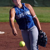 Chandler Moore, pitcher  Broomfield High throws against Berthoud High during play at Broomfield on Thursday. <br /> <br /> August 27, 2009<br /> staff photo/David R. Jennings