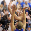 "Nate Roylance, Broomfield, goes to the basket against Shane Ellington, Centaurus, during Friday's game at Broomfield. <br /> For more photos please see  <a href=""http://www.broomfieldenterprise.com"">http://www.broomfieldenterprise.com</a><br /> January 19, 2012<br /> staff photo/ David R. Jennings"