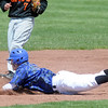 Andy McClaskey, Broomfield, slides safely to second base during Saturday's game against Greeley Central at Broomfield.<br /> May 8, 2010<br /> Staff photo/ David R. Jennings