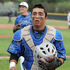 Broomfield's catcher, Ben Martinez, heads back to the dugout after an inning against Green Mountain during Saturday's 4A District game at Broomfield.<br /> <br /> May 12, 2012 <br /> staff photo/ David R. Jennings