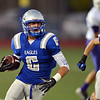 Broomfield's Gian Panicucci runs the ball downfield against Littleton during Friday's Homecoming game at Elizabeth Kennedy Stadium.<br /> September 20, 2012<br /> staff photo/ David R. Jennings