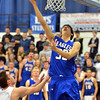 Broomfield's Brandon Hull goes to the basket against Longmont during Friday's game at Longmont High.<br /> February 8, 2013<br /> staff photo/ David R. Jennings