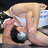 """Broomfield's Austyn Harris wrestles Mountain View's Thomas Watkins in the 195 lb. weight class during Thursday's match at Broomfield.<br /> For more photos please see  <a href=""""http://www.broomfieldenterprise.com"""">http://www.broomfieldenterprise.com</a>.<br /> January 12, 2012<br /> staff photo/ David R. Jennings"""