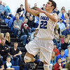 Broomfield's Alec McClain goes for a lay-up against Pueblo East during Saturday's game at Broomfield.<br /> <br /> February 2, 2013<br /> staff photo/ David R. Jennings