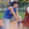 Lindsey Babcock, Broomfield, tags out a Tuttle player at second base during Friday's game against Tuttle, Oklahoma at the Erie Festival of Champions softball tournament.<br /> <br /> September 2, 2011<br /> staff photo/ David R. Jennings