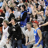 Broomfield fans cheer after Dan Perse made a basket against Wasson during Saturday's state 4A playoff game at Broomfield.<br /> February 24, 2012 <br /> staff photo/ David R. Jennings