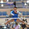 Broomfield's Gabby Maiden performs on the uneven parallel bars in the state 5A gymnastics competition at Thornton High School on Friday.<br /> <br /> November 2, 2012<br /> staff photo/ David R. Jennings