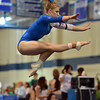 Broomfield's Melanie Stelling performs her floor routine at the state 5A gymnastics competition at Thornton High School on Friday.<br /> <br /> <br /> November 2, 2012<br /> staff photo/ David R. Jennings