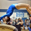 Broomfield's Monique Martinez performs on the vault at the state 5A gymnastics competition at Thornton High School on Friday<br /> <br /> November 2, 2012<br /> staff photo/ David R. Jennings