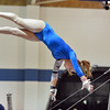Broomfield's Kailey Licata performs on the uneven parallel bars in the state 5A gymnastics competition at Thornton High School on Friday.<br /> <br /> <br /> November 2, 2012<br /> staff photo/ David R. Jennings