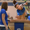 Broomfield's Breanne Claussen performs on the vault at the state 5A gymnastics competition at Thornton High School on Friday<br /> <br /> November 2, 2012<br /> staff photo/ David R. Jennings