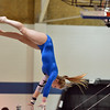 Broomfield's Kailey Licata performs on the uneven parallel bars in the state 5A gymnastics competition at Thornton High School on Friday.<br /> <br /> November 2, 2012<br /> staff photo/ David R. Jennings