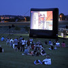 People watch Broomfield Spirit of the American Dream film during the Great American Picnic at the Broomfield County Commons Park on Monday.<br /> <br /> July 4, 2011<br /> staff photo/ David R. Jennings