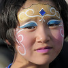 Lily McKeralt-Gould, 9, had her face painted as a princess during the Great American Picnic at the Broomfield County Commons Park on Monday.<br /> <br /> July 4, 2011<br /> staff photo/ David R. Jennings