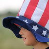 Max Gaston, 10 1/2, wore a big Uncle Sam hat during the Great American Picnic at the Broomfield County Commons Park on Monday.<br /> <br /> July 4, 2011<br /> staff photo/ David R. Jennings