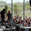 A band performs for fans during Thursday's Broomstock 2010 at the Broomfield County Commons. <br /> May 27, 2010<br /> Staff photo/ David R. Jennings
