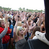 Fans cheer during the performance of Be Brave during Broomstock at the Broomfield County Commons Park on Thursday.<br /> May 26, 2011<br /> staff photo/David R. Jennings