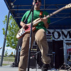 Andrew Newman plays the guitar for Taking Canyon during Broomstock 2012 at the Broomfield County Commons on Thursday.<br /> <br /> May 24, 2012 <br /> staff photo/ David R. Jennings