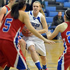 Broomfield's Callie Kaiser goes to the basket against Centaurus'\ during Tuesday's game at Broomfield.<br /> February 19, 2013<br /> staff photo/ David R. Jennings
