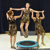 "Katie Effertz, 14, is lifted in the air by Sarah Fanning, 16, left, and Aliyah Price, 15, for a dance about gravity for the Children Dance Theater's production of  ""A Science Adventure on the Magic School Bus"" at Emerald Elementary School on Friday.<br /> September 21, 2012<br /> staff photo/ David R. Jennings"