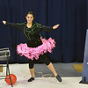 "Angela Davies, 16, performs a dance about electricity in people's lives during the Children Dance Theater's production of  ""A Science Adventure on the Magic School Bus"" at Emerald Elementary School on Friday.<br /> September 21, 2012<br /> staff photo/ David R. Jennings"