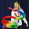 "Corrynn Johnson, 15, performs a dance about rainbows during the Children Dance Theater's production of ""A Science Adventure on the Magic School Bus"" at Emerald Elementary School on Friday.<br /> September 21, 2012<br /> staff photo/ David R. Jennings"