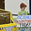 "Nicole Hicks, 14, as Miss Frizzle in the Children Dance Theater's production of  ""A Science Adventure on the Magic School Bus"" at Emerald Elementary School on Friday.<br /> September 21, 2012<br /> staff photo/ David R. Jennings"