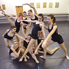 Dance students weave themselves together for a movement exercise during the choreography class at Dance Arts Studio on Saturday.<br /> January 26, 2013<br /> staff photo/ David R. Jennings