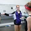 Corrynn Johnson, 16, left, explains the choreography for her dance to Kalia Thomas, 15, right,  during the choreography class at Dance Arts Studio on Saturday.<br /> January 26, 2013<br /> staff photo/ David R. Jennings