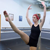 Kalia Thomas, 15, perfoms a dance choreographed by Corrynn Johnson during the choreography class at Dance Arts Studio on Saturday.<br /> January 26, 2013<br /> staff photo/ David R. Jennings