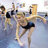 Emily Westbrook, 15, performs with fellow dancers for a movement exercise during the choreography class at Dance Arts Studio on Saturday.<br /> January 26, 2013<br /> staff photo/ David R. Jennings