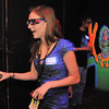 Northglenn High student Jasmine Heide, wearing 3D glasses, tries to find her way through the scarey clowns part of the maze in the Circus of Fear 3D Haunted Fun House at FatCats  in Westminster on Thursday.<br /> <br /> September 29, 2011<br /> staff photo/ David R. Jennings