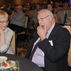 Retired Broomfield City and County Manager George Di Ciero reacts after the announcement of naming the city and county building after him during Di Ciero's retirement party at the Omni Interlocken Hotel and Resort on Satureday.<br /> July 30, 2011<br /> staff photo/ David R. Jennings