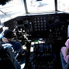 Bailey Simon, 7, and her brother Gabe, 8, sit in the cockpit of a large cargo plane during the Colorado Sport International Air Show on Saturday, Aug. 22, 2009 at the Rocky Mountain Metropolitan Airport in Broomfield. <br /> <br /> VIDEO INLINE: VIDEO: VIDEO: BROOM AIR SHOW 2009<br /> <br /> Photo by Mara Auster/Daily Camera