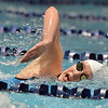 Fairview's Abigail Houck swimming in the 500 yard freestyle during the Colorado Coaches Association Invitational at the Veterans Memorial Aquatic Center in Thornton on Saturday.<br /> December 14, 2012<br /> staff photo/ David R. Jennings