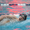 Fairview's Max Phillips swims the first leg of the 400 yard relay during the Dick Rush Coach's Invitational Swim Meet at the Veterans Memorial Aquatic Center in Thornton on Saturday.<br /> March 31, 2012 <br /> staff photo/ David R. Jennings
