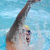 Legacy's Jacob Davis swims in the 200 yard IM event at the Dick Rush Coach's Invitational Swim Meet at the Veterans Memorial Aquatic Center in Thornton on Saturday.<br /> March 31, 2012 <br /> staff photo/ David R. Jennings
