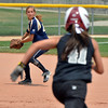 "Carly Kingery, Indiana Magic Gold, throws to second base as Brooke Cantillo, Orange County Batbusters runs  during the championship game for the 2012 Colorado Freedom Girl's Softball Invitational at Community Park on Friday.<br /> <br /> July 4, 2012<br /> staff photo/ David R. Jennings<br /> <br /> More photos and video please go to <br />  <a href=""http://www.broomfieldenterprise.com"">http://www.broomfieldenterprise.com</a>"