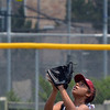 "Natalie Sanchez, Orange County Batbusters, eyes the ball for an out against the Indiana Magic Gold during the championship game for the 2012 Colorado Freedom Girl's Softball Invitational at Community Park on Friday.<br /> <br /> July 4, 2012<br /> staff photo/ David R. Jennings<br /> <br /> More photos and video please go to <br />  <a href=""http://www.broomfieldenterprise.com"">http://www.broomfieldenterprise.com</a>"